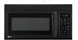 "LMV1831SB LG 30"" 1.8 cu. ft. Over-The-Range Microwave Oven - Black"