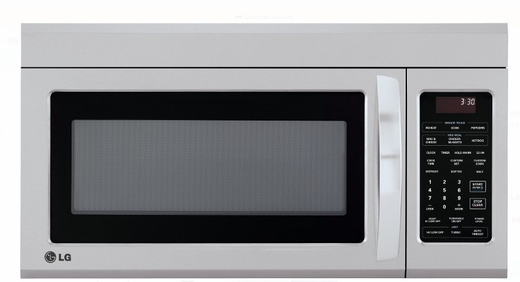 "LMV1831ST LG 30""  1.8 cu. ft. Over-The-Range Microwave Oven - Stainless Steel"