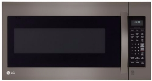LMV2031BD LG Black Stainless Steel Series 2.0 cu. ft. Over-The-Range Microwave - Black Stainless Steel