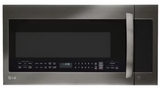 LMVM2033BD LG 2.0 cu. ft. Over-The-Range Microwave Oven With Sensor Cooking and EasyClean - Black Stainless Steel