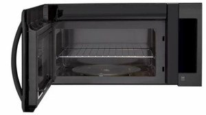 LMVM2033BM LG 2.0 cu. ft. Over-The-Range Microwave Oven With Sensor Cooking and EasyClean - Matte Black Stainless Steel