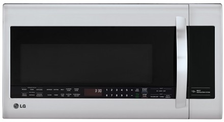 LMVM2033ST LG 2.0 cu. ft. Over-The-Range Microwave Oven - Stainless Steel