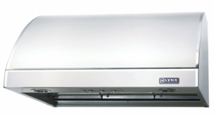 "LOH36 Lynx 36"" Outdoor Wall Mount Vent Hood (Blower Sold Separately) - Stainless Steel"