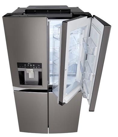 Lpxs30866d Lg Black Stainless Steel Series 36 4 Door French Refrigerator With In