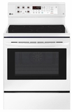 "LRE3193SW LG 30"" 6.3 cu. ft. Free Standing Electric Range with True Convection and EasyClean - Smooth White"