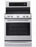 "LRE4213ST LG 30"" Electric Single Oven Range with ProBake Convection and EasyClean - Stainless Steel"