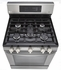 "LRG3061ST LG 30"" Gas Range with 5 Sealed Burners and Storage Drawer - Stainless Steel"