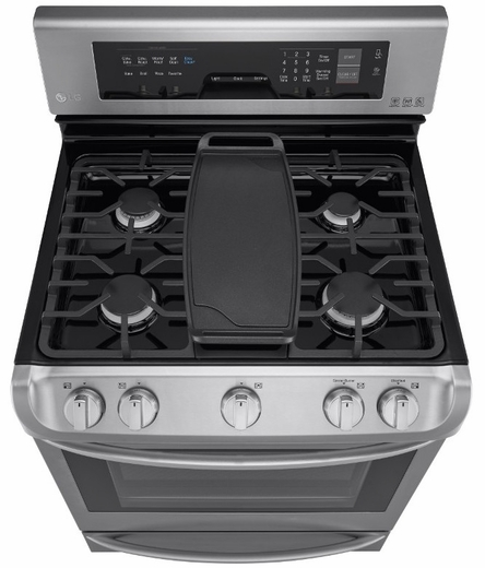 LRG4115ST LG Freestanding Gas Range with Probake Convection - Stainless Steel