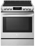 "LSE4616ST LG 30""  Wi-Fi Enabled Slide-In Induction Range with Easy Clean and ProBake Convection - Stainless Steel"