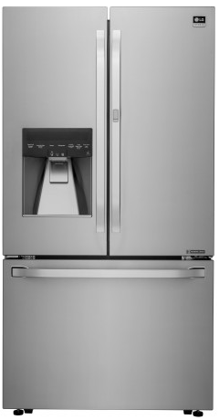 LSFXC2476S LG Studio Counter Depth 3-Door French Door Refrigerator with Door-In-Door - Stainless Steel