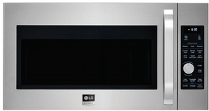 LSMC3086ST LG Studio Over-the-Range Convection Microwave Oven with 1.7 cu. ft. Oven Capacity - Stainless Steel