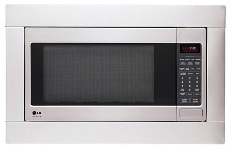 Reviews For Lsrm2010st Lg Studio Series 2 0 Cu Ft Countertop Microwave With Truecookplus