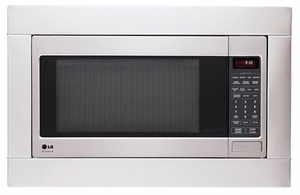 LSRM2010ST LG Studio Series 2.0 Cu. Ft. Countertop Microwave with TrueCookPlus & EasyClean Interior - Stainless Steel