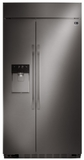 "LSSB2696BD LG 42"" Studio Ultra-Large Capacity Side-by-Side Refrigerator with Ice & Water Dispenser - Black Stainless Steel"