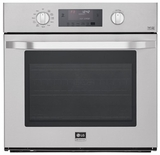 "LSWS306ST LG Studio 30"" Built-in Single Electric Wall Oven with True Convection System - Stainless Steel"