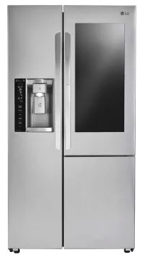 "LSXC22396S LG 36"" Counter Depth Refrigerator with InstaView Door-in-Door and SmartThinQ Technology - Stainless Steel"