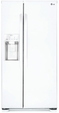 LSXS22423W LG 22 cu. ft. Side-by-Side Refrigerator with Tall Water/Ice Dispenser - White