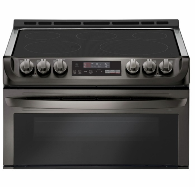 Lte4815bd Lg 30 Wi Fi Enabled Slide In Electric Double Oven