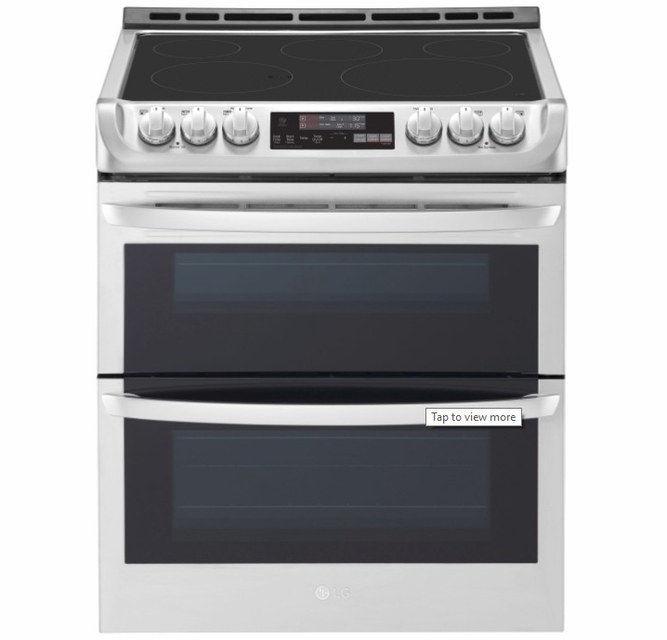 Lte4815st Lg 30 Wi Fi Enabled Slide In Electric Double Oven