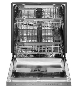 """LUDP8997SN LG 24"""" Signature Series Top Control Fully Integrated Dishwasher with SmartThinq and QuadWash - Stainless Steel"""