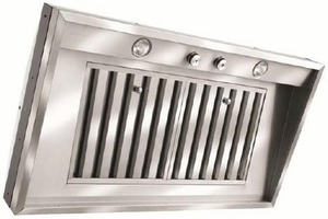 "M34SLDSS Vent-A-Hood 34 3/8"" Wall Liner with 50W Halogen Lights - Blower not Included - Stainless Steel"