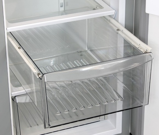 M36ss Ws Marvel 36 Side By Side Refrigerator Freezer With White Interior Stainless Steel