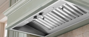 """M46SLDSS Vent-A-Hood 46 3/8"""" Wall Liner with 50W Halogen Lights - Blower not Included - Stainless Steel"""