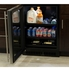 """MA24BCG1RS Marvel 24"""" Low Profile ADA Height Beverage Center - Right Hinge - Stainless Steel & Glass"""
