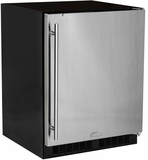 MA24RAS2RS Marvel Low Profile All Refrigerator ADA Refrigerator with MaxStore Crisper - With Lock- Right Hinge - With Lock - Stainless Steel