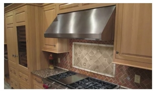 "MAES3618SS1200B Faber 36"" Maestrale 18 Under Cabinet Range Hood with Pro Motor and 1200 CFM - Stainless Steel"