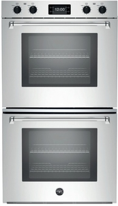 "MASFD30XT Bertazzoni Master Series 30"" Double Convection Self Clean Oven with Assistant - Stainless Steel"