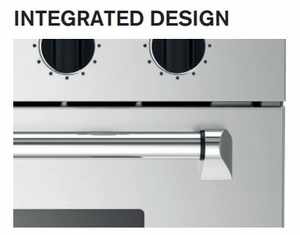 """MASFD30XT Bertazzoni Master Series 30"""" Double Convection Self Clean Oven with Assistant - Stainless Steel"""