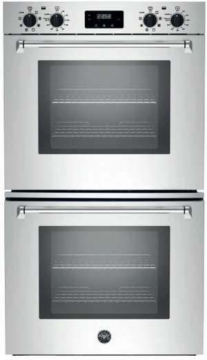 """MASFD30XV Bertazzoni Master Series 30"""" Double Convection Self Clean Oven with Dual Diagonal Convection - Stainless Steel"""