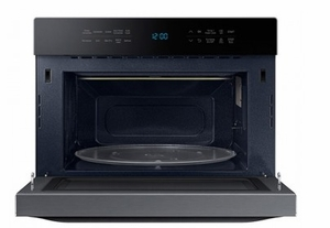 Mc12j8035ct Samsung 21 Counter Top Convection Microwave With Eco Mode And 1 2 Cu Ft Capacity Black