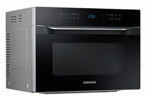 """MC12J8035CT Samsung 21"""" Counter Top Convection Microwave with Eco Mode and 1.2 cu. ft. Capacity - Black"""