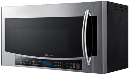 """MC17J8000CS Samsung 30"""" 1.7 cu. ft. Over-The-Range Convection Microwave with 950 Watts 10 Power Levels - Stainless Steel"""