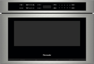MD24JS Thermador 24 Inch Built-in Microdrawer 1.2 Cu. Ft. Microwave Oven Drawer - Stainless Steel