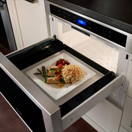 Md24js Thermador 24 Inch Built In Microdrawer 1 2 Cu Ft Microwave Oven Drawer Stainless Steel