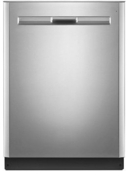 """MDB8959SFZ Maytag 24"""" Fully Integrated Dishwasher with 5 Wash Cycles, 5 Option Selections and PowerBlast Cycle - Stainless Steel"""