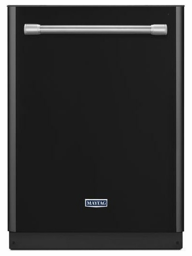 MDB8969SDE Maytag Quietest Dishwasher Ever with Large Capacity - Black with Stainless Handle