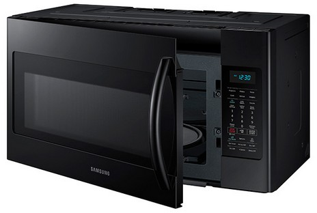ME18H704SFB Samsung 1.8 cu.ft. Over The Range Microwave with Sensor Cooking - Black