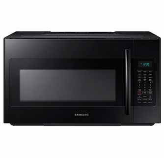 Me18h704sfb Samsung 1 8 Cu Ft Over The Range Microwave With