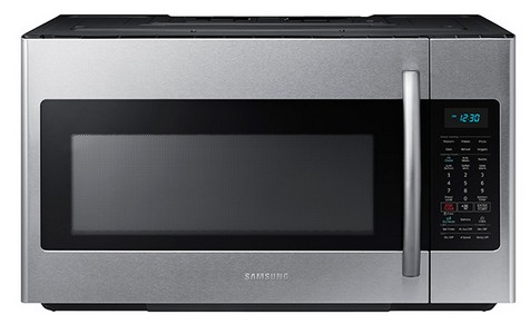 ME18H704SFS Samsung 1.8 cu.ft. Over The Range Microwave with Sensor Cooking - Finger Print Resistant Stainless Steel
