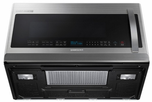 Me21h9900as Samsung 2 1 Cu Ft Over The Range Microwave