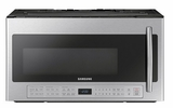 "ME21K6000AS Samsung 30"" 2.1 cu.ft. Over The Range Microwave with Sensor Cooking and Ceramic Enamel Interior - Stainless Steel"