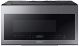 "ME21M706BAS Samsung 30"" 2.1 cu. ft. Over-The-Range Microwave with Sensor Cook and Precise Glass Controls - Fingerprint Resistant Stainless Steel"