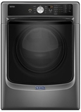 MED5500FC Maytag 7.4 Cu. Ft. Electric Dryer with Sanitize Cycle & PowerDry System - Metallic Slate
