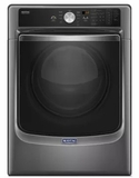 "MED8200FC Maytag 27"" 7.4 cu. ft. Front Load Dryer with Steam-Enhanced Dryer and PowerDry System - Metallic Slate"