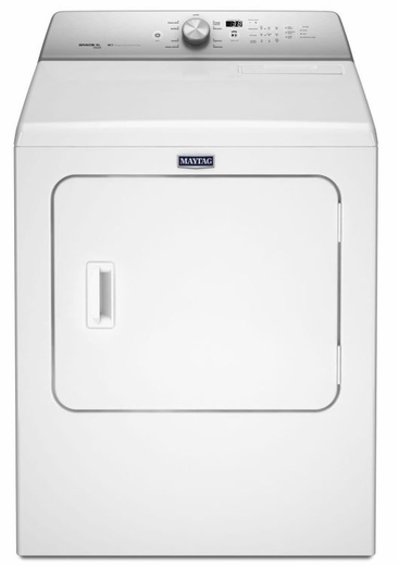 MEDB755DW Maytag 7.0 Cu. Ft. Electric Dryer With Rapid Dry Cycle - White