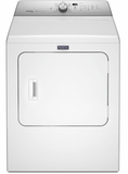 "MEDB766FW Maytag 29"" 7.0 cu. ft. Front Load Large Capacity Electric Dryer with Sanitize Cycle and Intellidry Sensor - White"